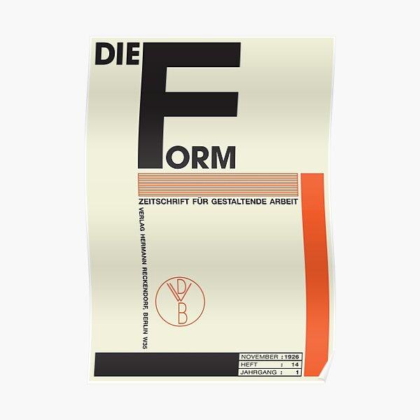 Bauhaus#1 Poster