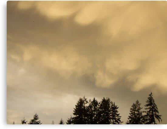 Clouds Rolling In by Jonice