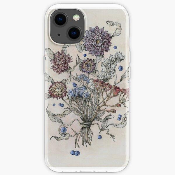 Herbst Blumen iPhone Flexible Hülle
