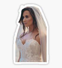 Demi lovato Bride Sticker