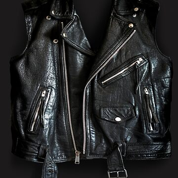 Black Leather Jacket by johnny55