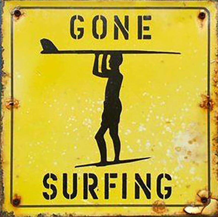 Gone Surfing by axkilla