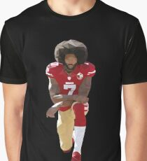 fed22cc087a75 Colin Kaepernick Kneeling Low Poly Graphic T-Shirt