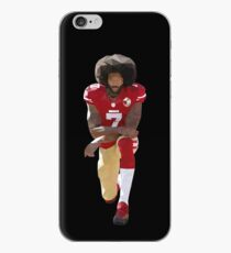 Vinilo o funda para iPhone Colin Kaepernick Kneeling Low Poly