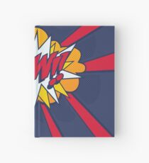Comic Book Style POW! Hardcover Journal