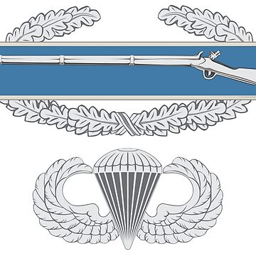 Combat Infantry Badge and Airborne by jcmeyer