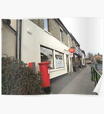 Post Office and Post Box Poster