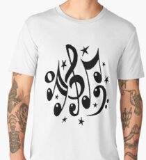 sheet music Men's Premium T-Shirt