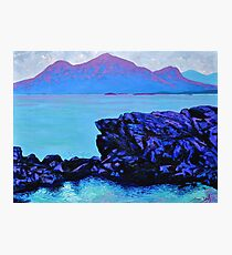 Renvyle Rocks, Connemara Photographic Print