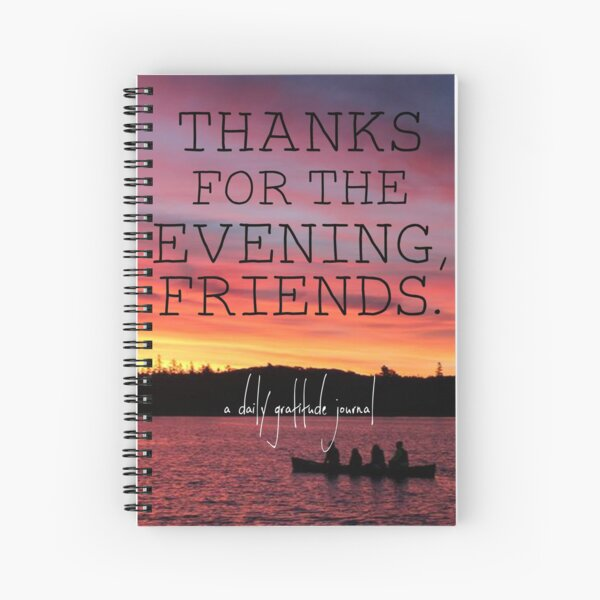 Daily Gratitude Journal Spiral Notebook