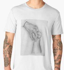 Holding Hands Men's Premium T-Shirt