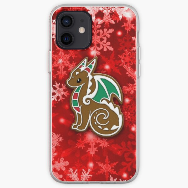 Gingerbread Dragon iPhone Soft Case