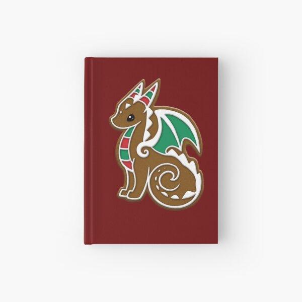 Gingerbread Dragon Hardcover Journal