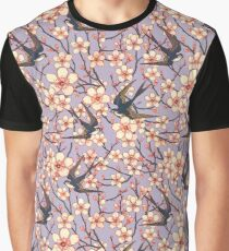 Birds and blossoms Graphic T-Shirt
