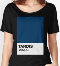 TARDIS Pantone (2955c) Women's Relaxed Fit T-Shirt