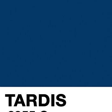 TARDIS Pantone (2955c) by dwf95