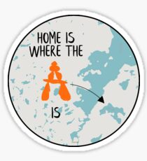 Home is at Camp Sticker