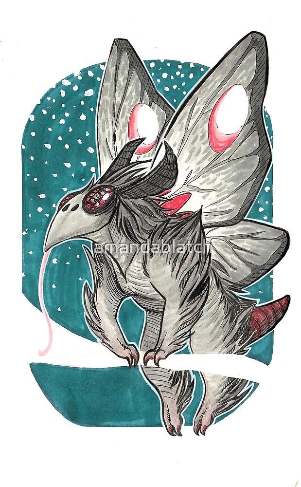 The Mothchild by amandablatch