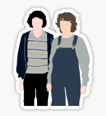 Minimalist Mileven  Sticker