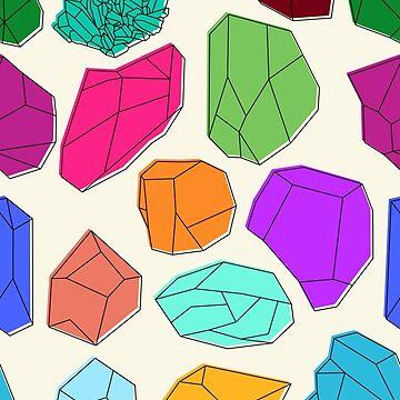 Gemstones by dorothytimmer