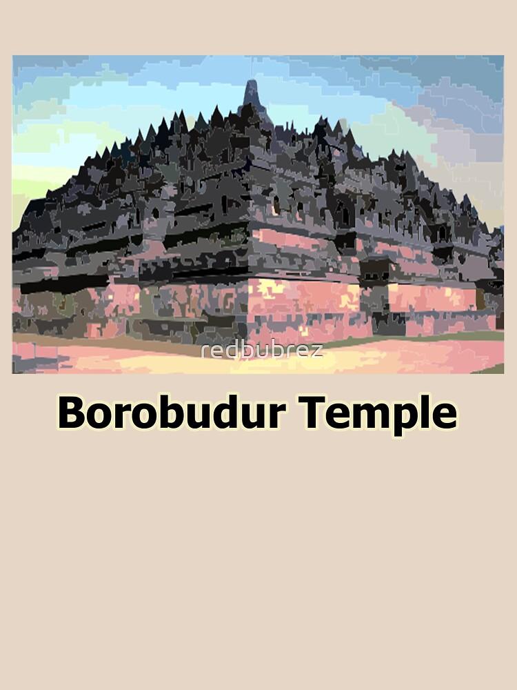 borobudur temple by redbubrez