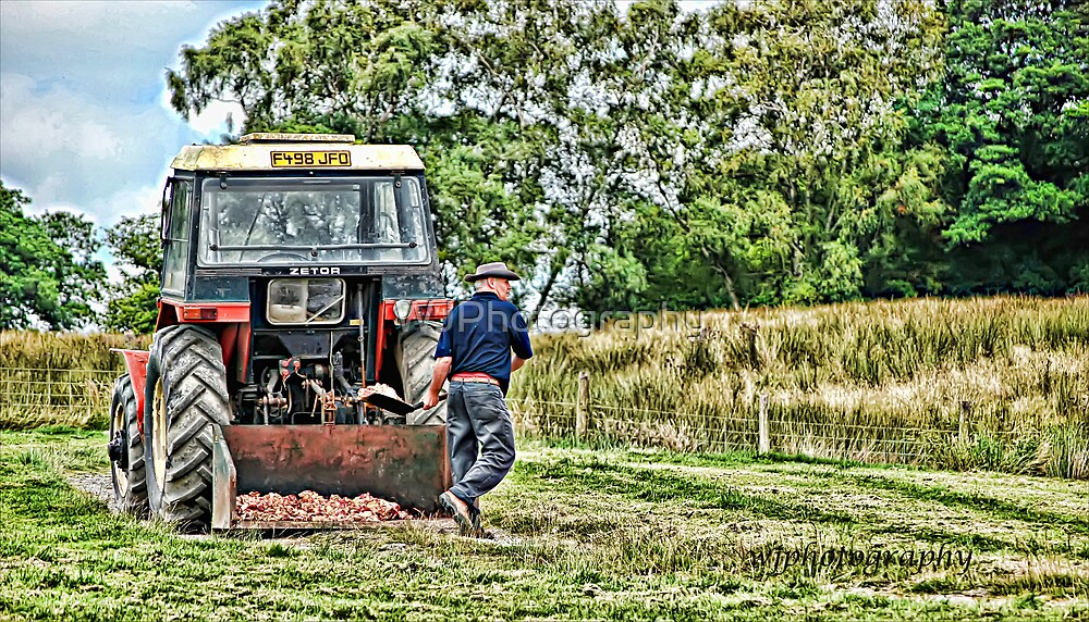 Man at Work by WJPhotography