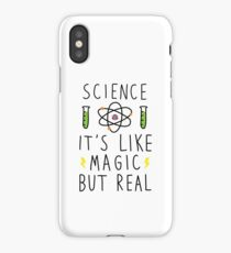 Science it's like mgic but real iPhone Case/Skin