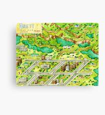 Little Onett Town Earthbound Canvas Print