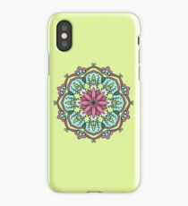 Mandala - Circle Ethnic Ornament iPhone Case