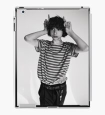 Finn Wolfhard black and white photoshoot merch iPad Case/Skin