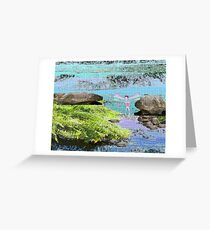 Waterfall of Color with Fairy Greeting Card