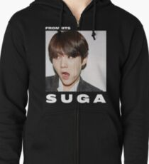 BTS - SUGA Zipped Hoodie