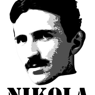Nikola Tesla by samohtbackwards