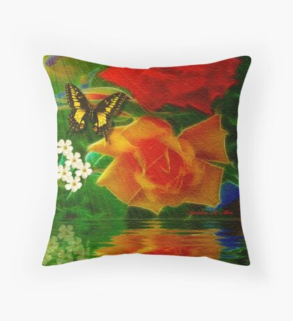 ~ ROSES FOR YOU ~ Throw Pillow