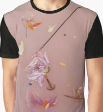 Harry Styles - pink flowers Graphic T-Shirt