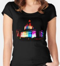 Pride Night, San Francisco City Hall - June 2015 Women's Fitted Scoop T-Shirt