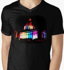 Pride Night, San Francisco City Hall - June 2015 V-Neck T-Shirt