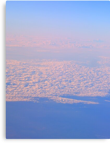 above the clouds by kat  -