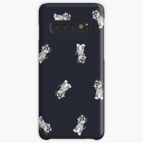 Mini Schnauzer Dog Pattern Samsung Galaxy Snap Case