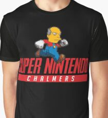 Super Nintendo Chalmers Graphic T-Shirt