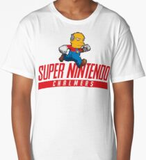 Super Nintendo Chalmers Long T-Shirt