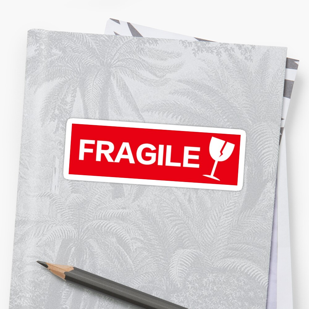 i am fragile! by yiqi fan