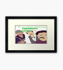Tin Can Brothers Framed Print