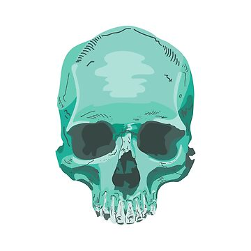 Expressive Skull by P-Bubs