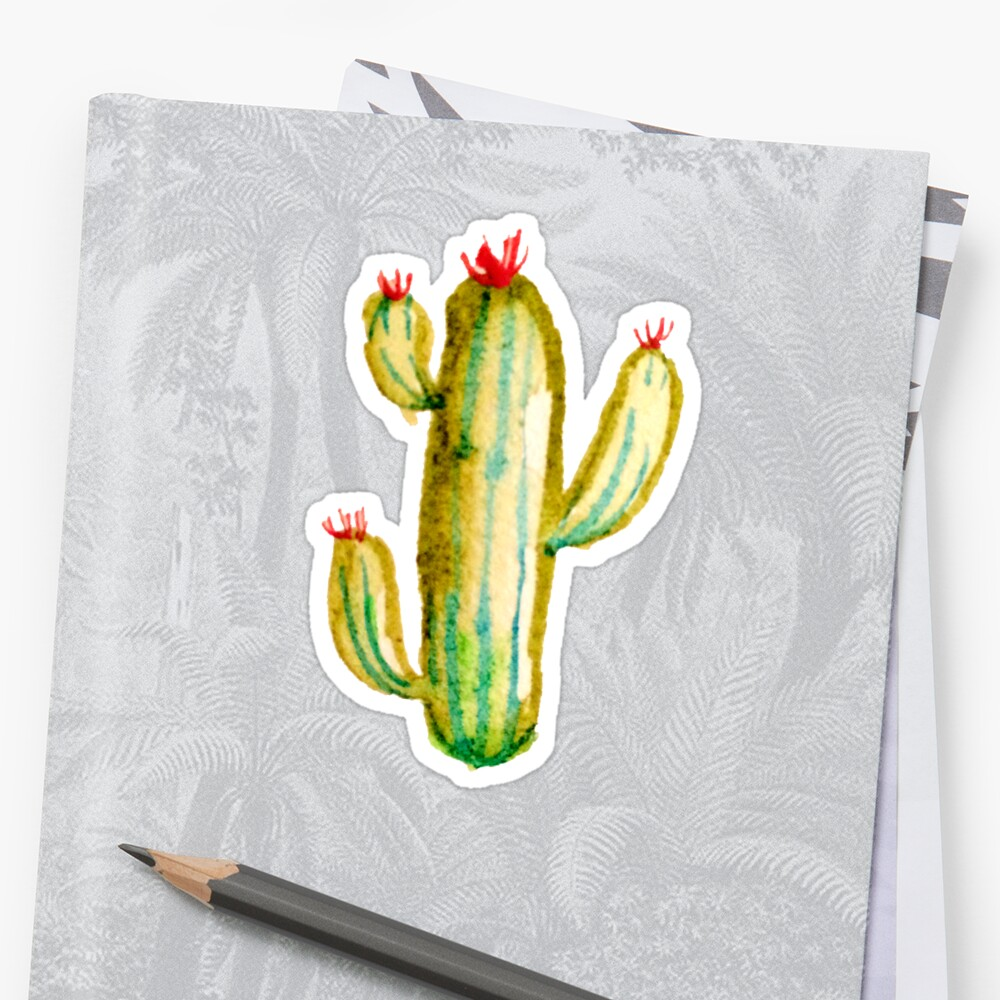 Watercolor Cactus  by tofusan