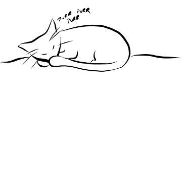 Sleeping Kitten by sunnyTimeDesign