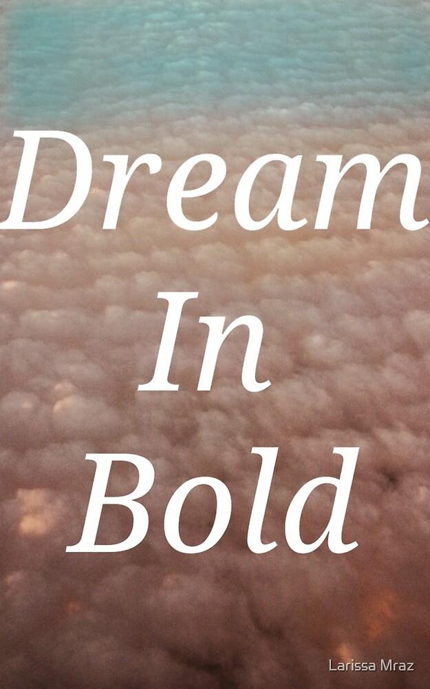 Dream in Bold by Larissa Mraz