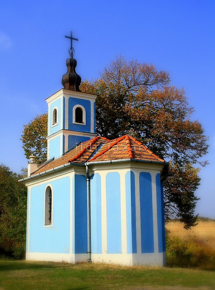 Blue chapel by i l d i    l a z a r