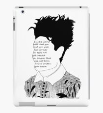 'Poet' iPad Case/Skin