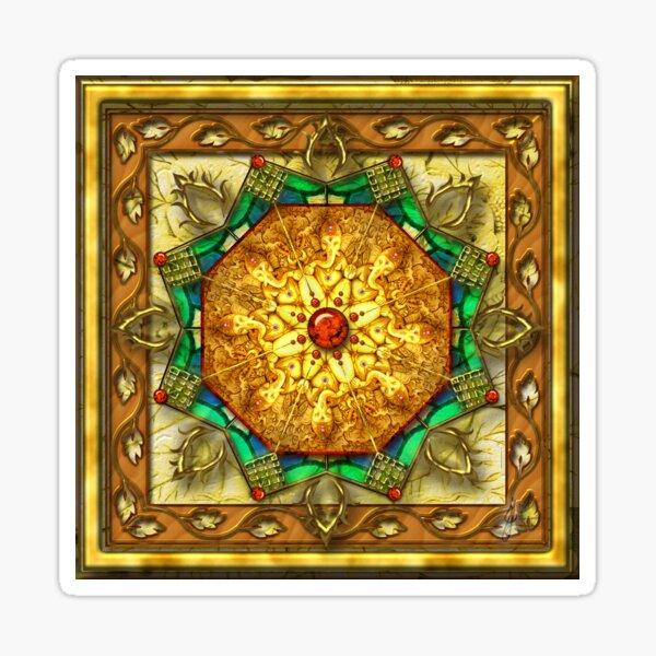 Lord Ganesha Mandala Sticker